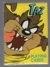 Collectible playing cards   TAZ